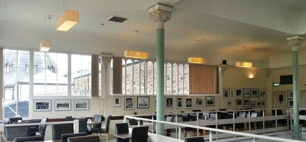 City Light exhibition in the Art Cafe in Buxton Pavilion Gardens 2014