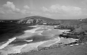 Dunmore Head and beach from near Slea Head