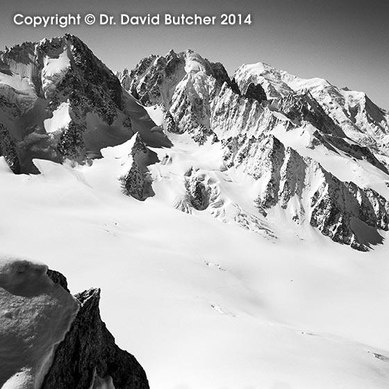 Mont Blanc from the Aiguille du Tour