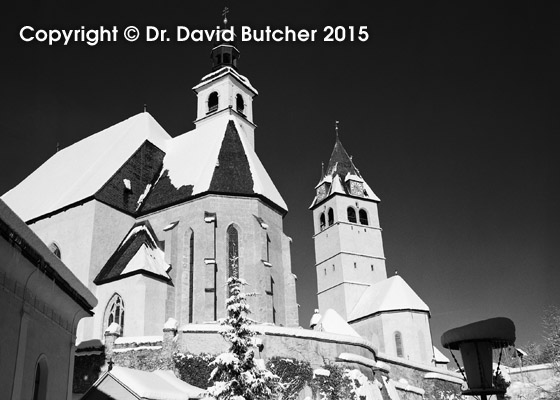Kitzbuhel Churches in Winter