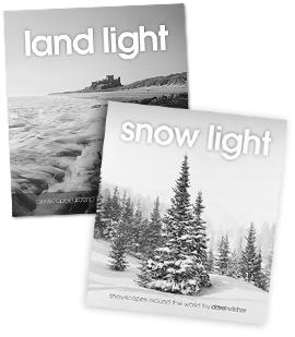 Land Light and Snow Light books