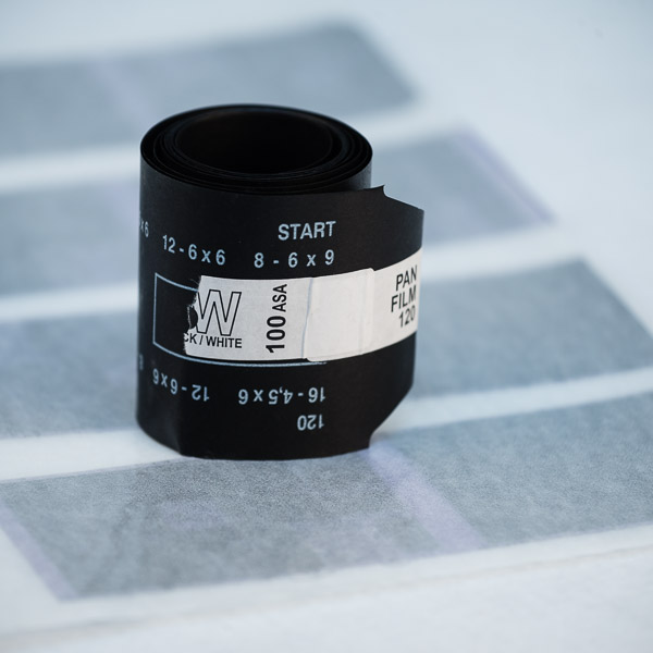 120 Black and White Film Developing available from Darkroom Malta