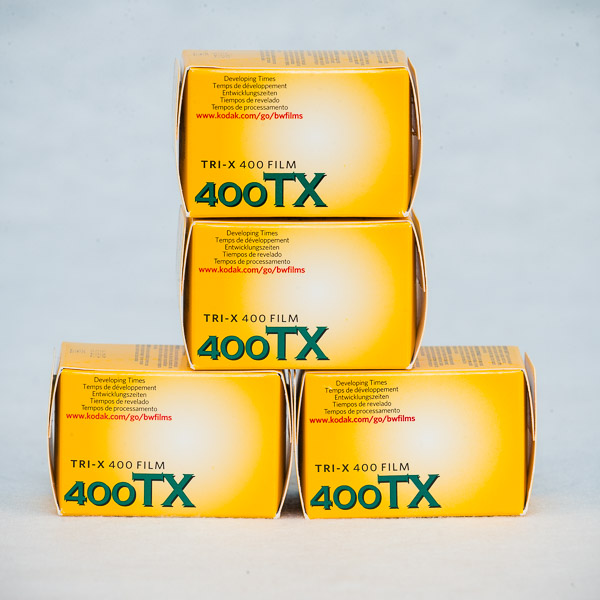 Kodak Tri X 4 film Economy Package