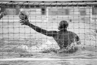 Water Polo, Darkroom Malta, Sports, 35mm Film,Sliema Frank Salt vs Valletta United. Ilford HP5+ @ ASA1600