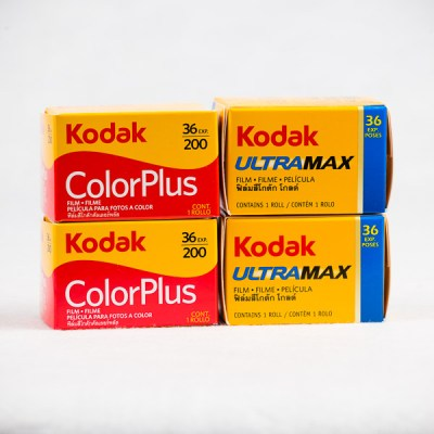 Kodak Colour Pack - x2 Color Plus & x2 Ultra Max