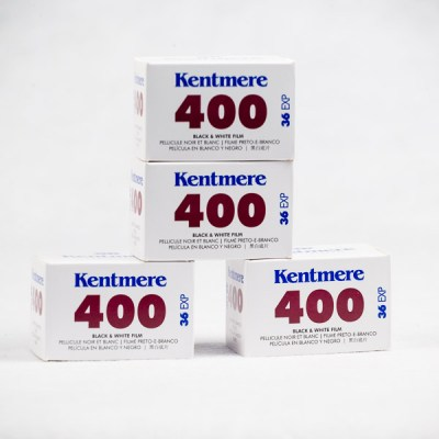 Kentmere 400 x4 roll package
