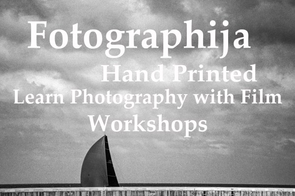 Learn Photography with Film, Workshops