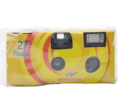Disposable Camera Colour with Flash