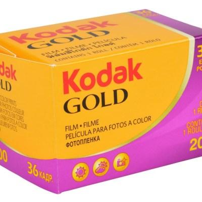 Kodak Gold 200, Analog, 35mm FIlm,