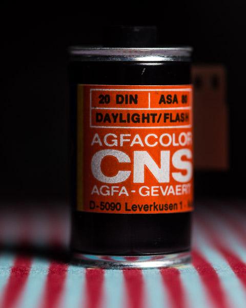 Agfa CNS, Expired Film