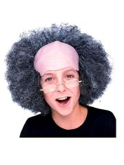 bald curly hair halloween costume