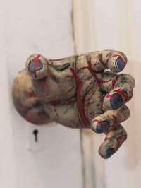 Zombie Hand Door Knob Cover, Halloween Door Decorations