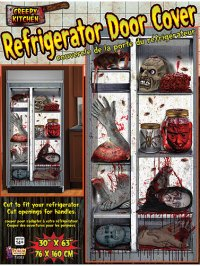 Creepy Kitchen Refrigerator Door Decoration, Scary ...