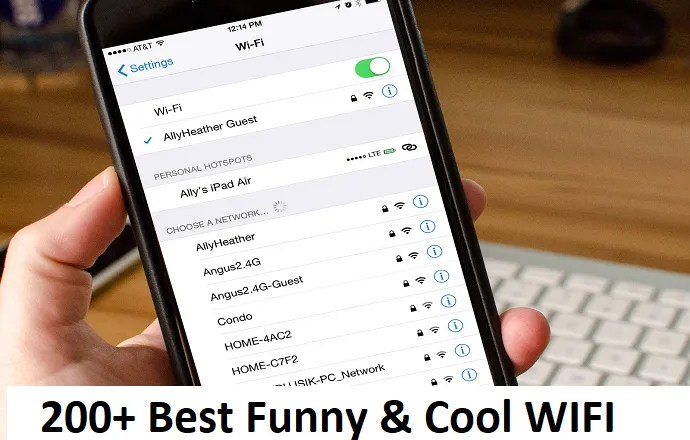 200 + Best Latest WiFi Hacker, Funny, Cool & Geeky Names