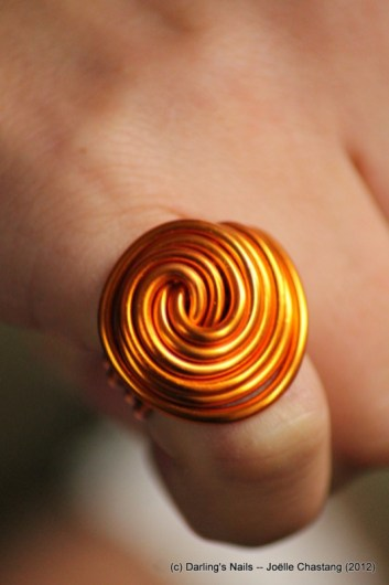 Grosse baque spirale 6€