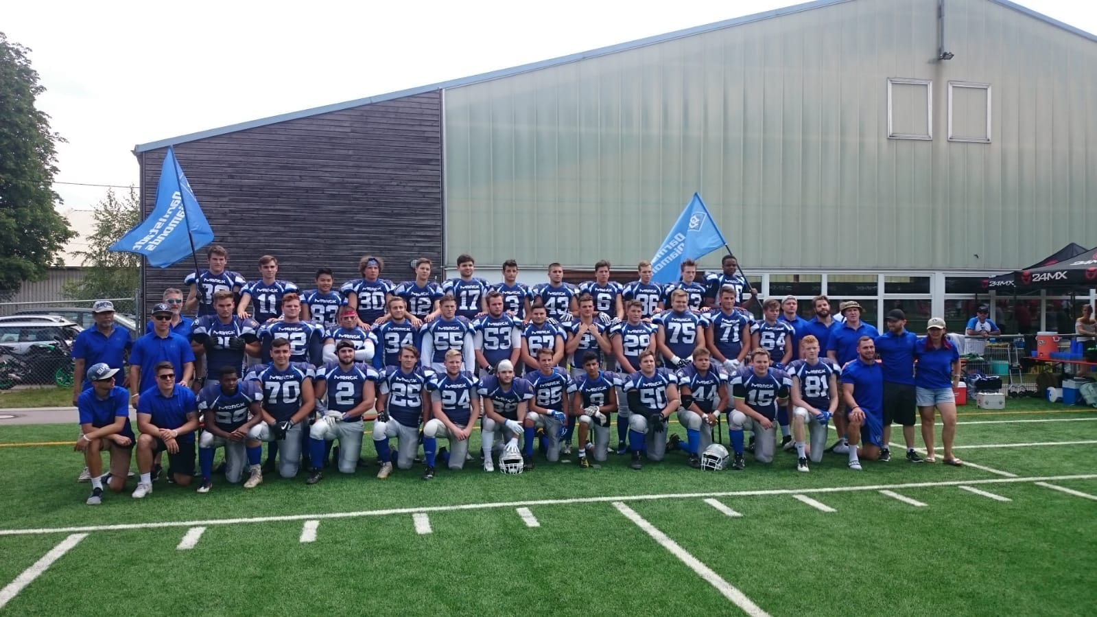 Teamfoto U19 gfl-juniors