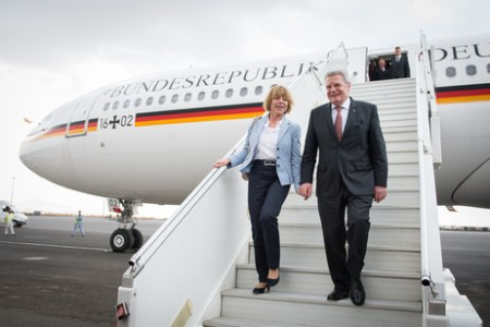 From February 2-6m German Federal President Joachim Gauck will be visiting Tanzania with his partner Daniela Schadt and a business delegation. Photo: Bundespräsident.