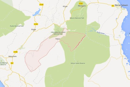 Ten terror suspects have been arrested in Kilombero region. Photo: Google Maps