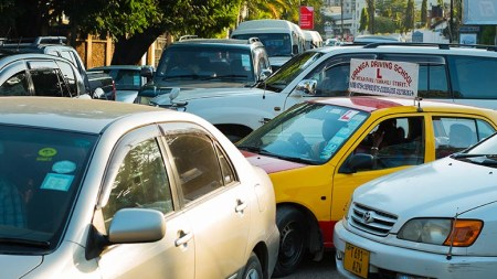 Uber joins Dar's traffic-snarled streets on June 16. Photo: Daniel Hayduk