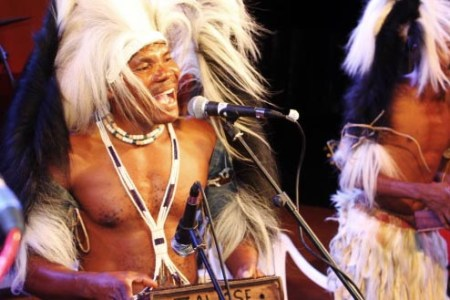A performer at last year's Karibu Music Festival, which is coming back for more in November. Photo: contributed