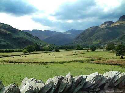 Beautiful scenery in the Lake District - England