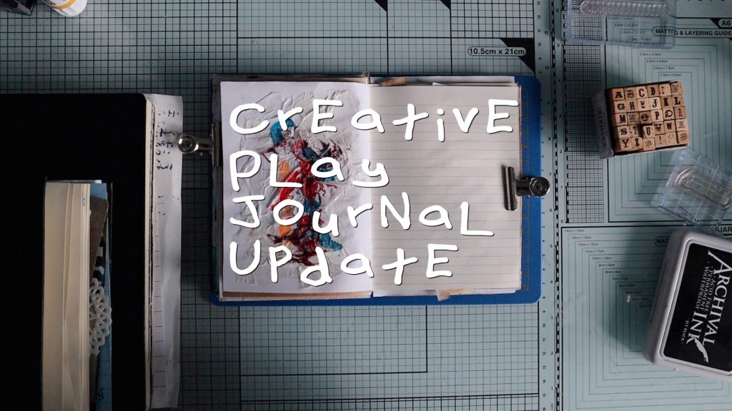 Creative play, journal and planner update vlog