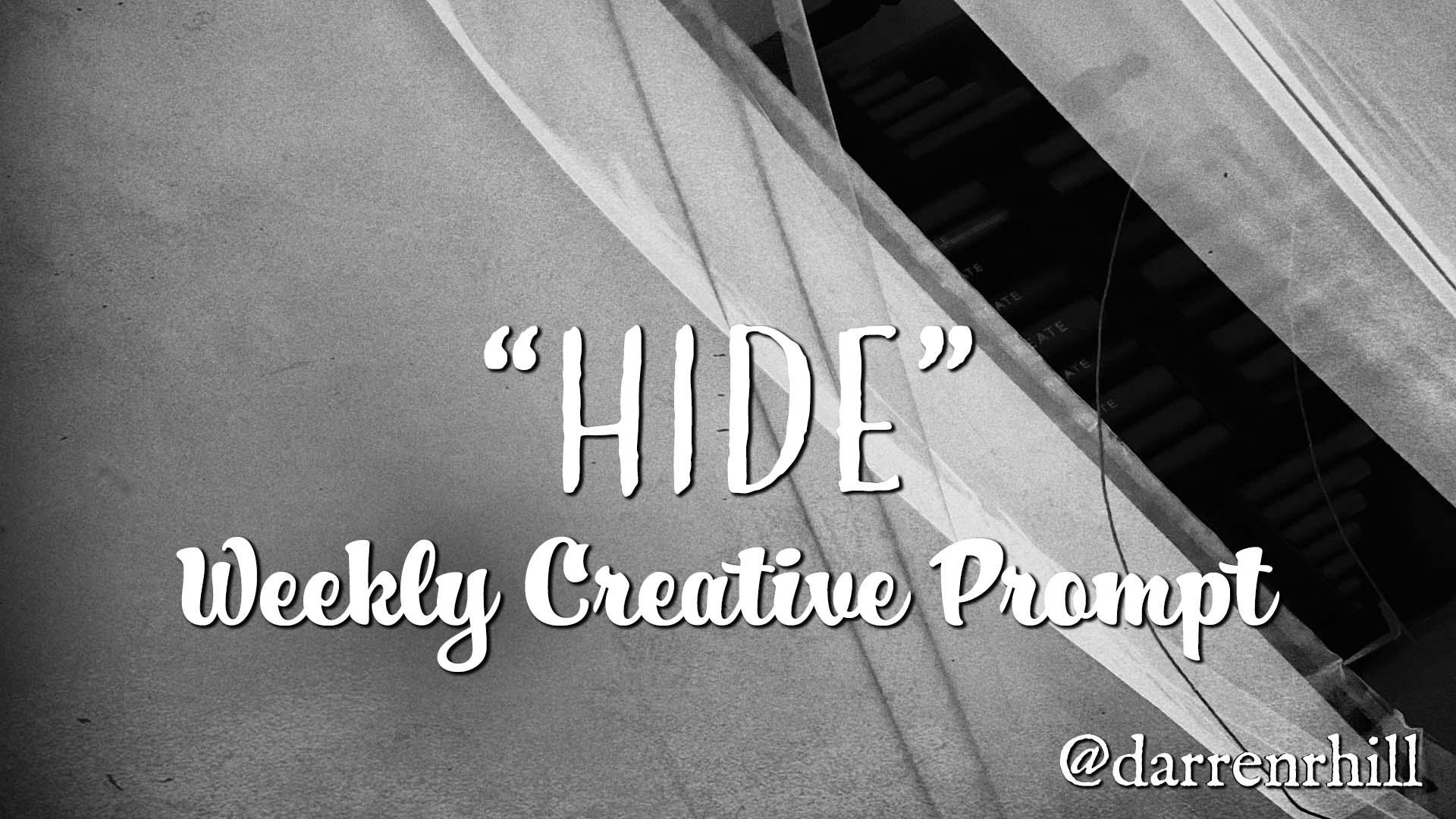 Hide weekly creative prompt