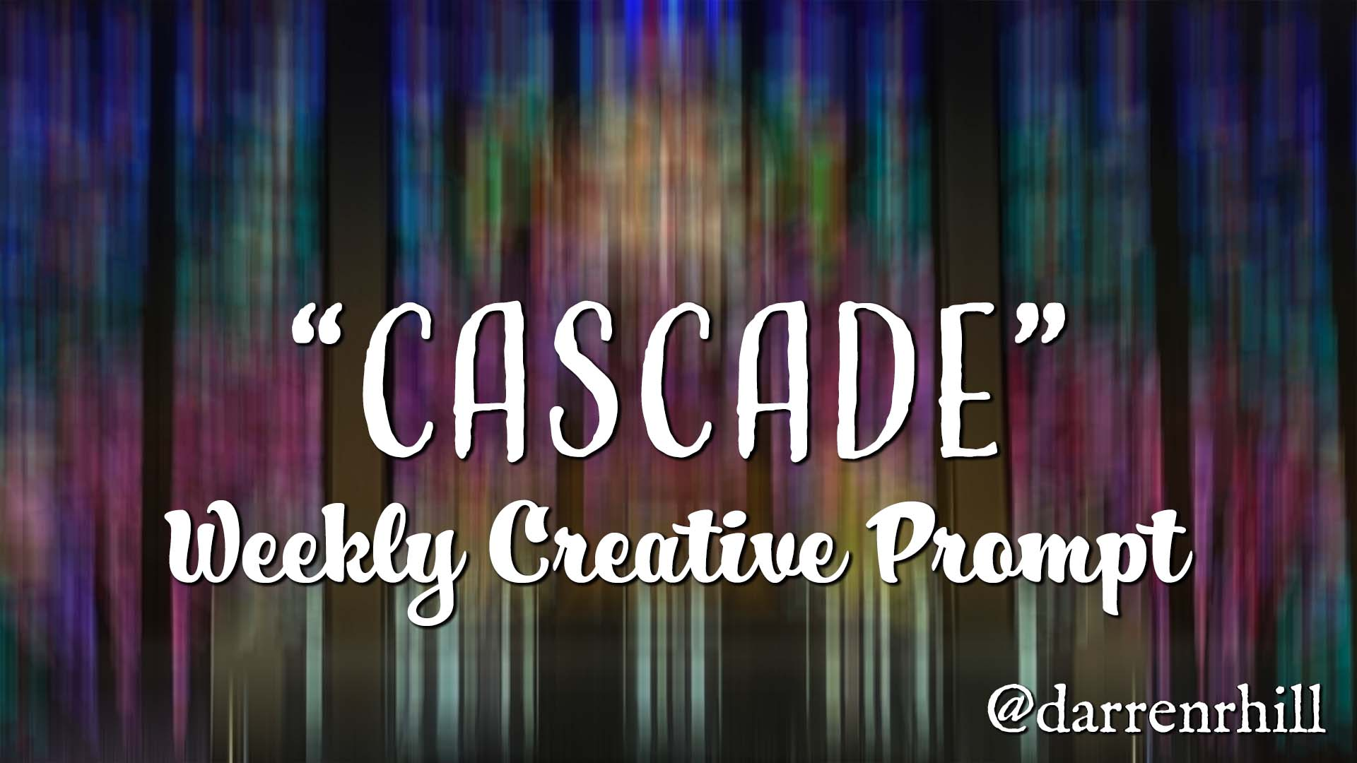 cascade weekly creative prompt