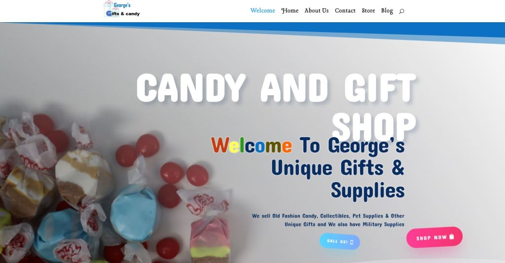 candy store site