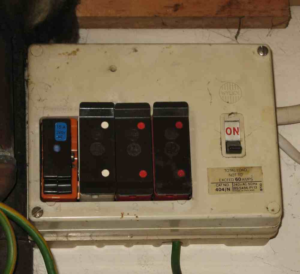 medium resolution of electrician in worcester fuse board upgrades