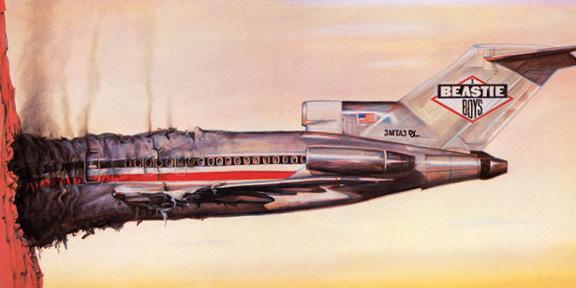 Album cover of Beastie Boys' Licensed To Ill (1986)