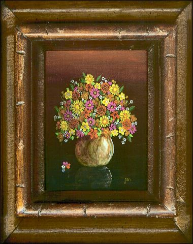 A Painting by Jan Geist. Collection of Darrell Gaul, San Diego, CA