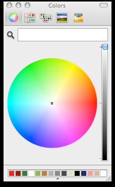 Mac Color Palette