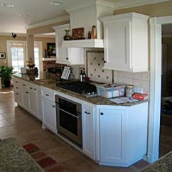 End Kitchen Cabinet How To Set Up A Pantry Custom Cabinets From Darryn S Serving Range Hood