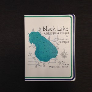 black lake customized journal