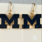 U of M Earrings