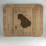 Black Lake Cribbage Board