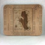 Burt Lake Cribbage Board