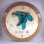 Lake Huron Wall Clock