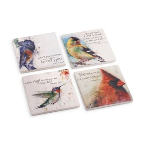 birds of faith coaster set dean crouser