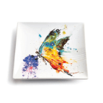 butterfly snack plate