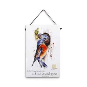 bluebird inspirational wall plaque dean crouser