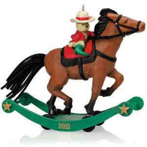 Hallmark Limited Premiere Ornament A Pony For Christmas