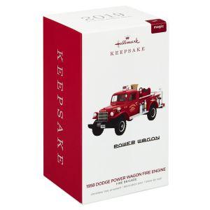 2019 Lighted Fire Truck Fire Brigade