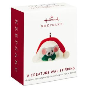 Mini A Creature Was Stirring Hallmark
