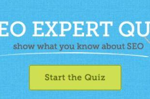 SEO Expert Quiz