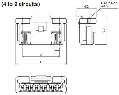 Шаг 1,0 мм : Разъемы кабель-плата :: ДАРТ Электроникс