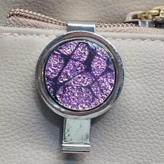 Magenta Dichroic Key Finder with Mosaic Pattern