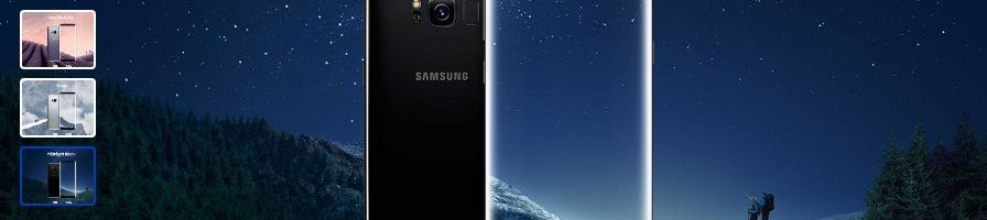 Samsung Galaxy S8 e S8 Plus già disponibili in preordine su Amazon