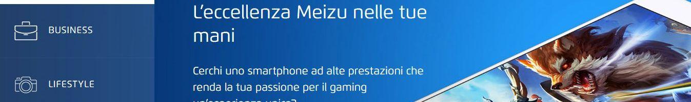 Arriva il sito ufficiale italiano di Meizu